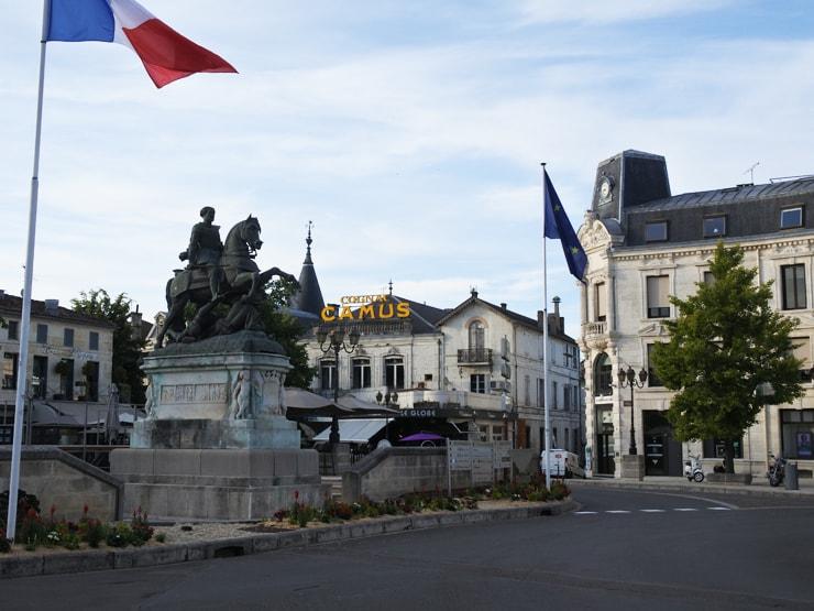 コニャックの広場