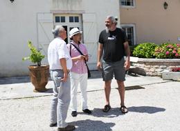 ボワソーさんとアルノー、マヴィの田村